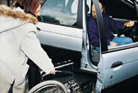 Services for drivers with disabilities